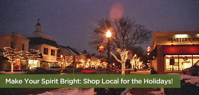 Make Your Spirit Bright: Shop Local for the Holidays!