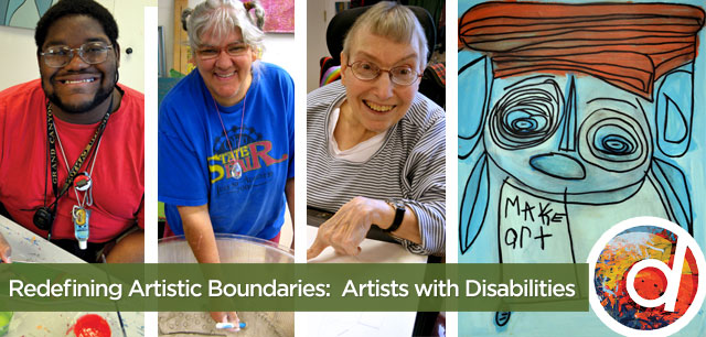 Redefining Artistic Boundaries:  Artists with Disabilities