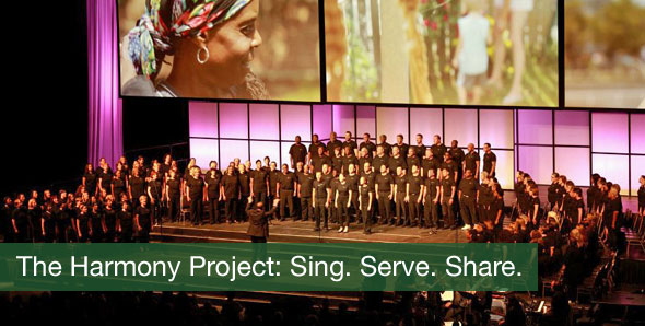 The Harmony Project: Sing. Serve. Share.